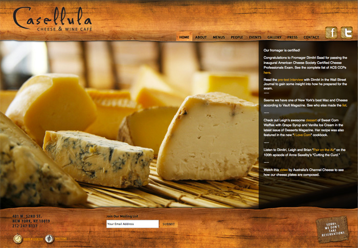 Casellula Wine & Cheese Café