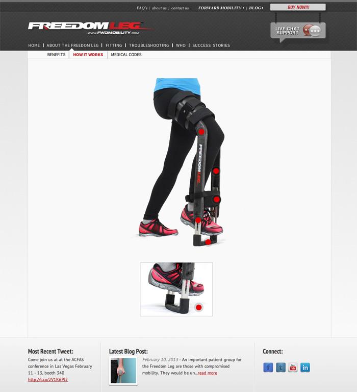 Freedom Leg Brace « Lovejoy Designs
